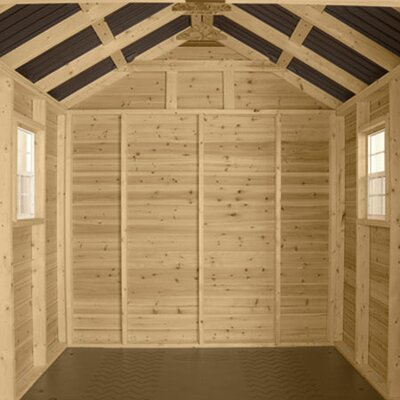 Suncast American Wood Storage Shed