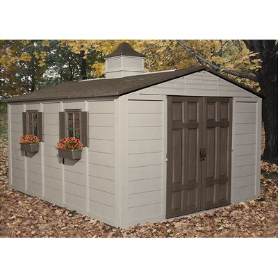 Suncast 10ft. W x 12ft. D Storage Shed
