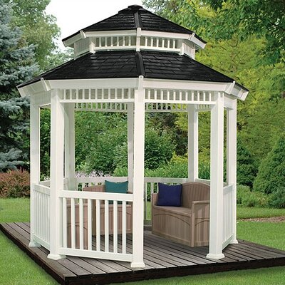 Suncast Double Roof Gazebo
