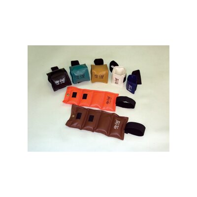 The Cuff 7 Piece Rehabilitation Ankle and Wrist Weight with Rack Kit