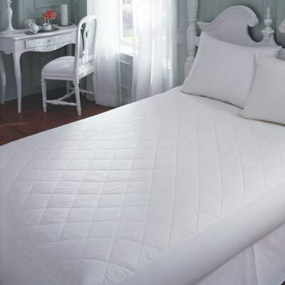 Downright Cotton Mattress Pad in White