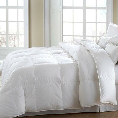 MACKENZA Medium White Down/White Feather Pillow
