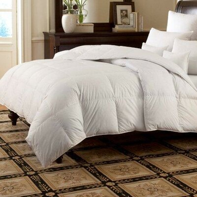 Downright LOGANA Batiste Firm 800 White Goose Down Pillow