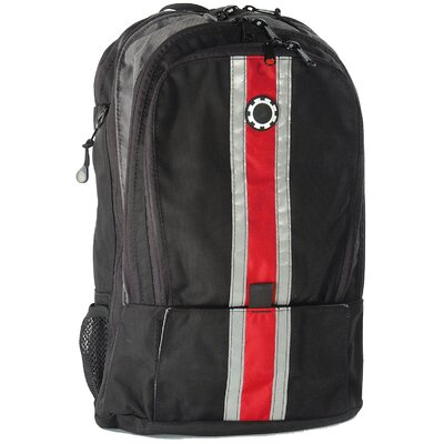 Center Stripe Backpack Diaper Bag
