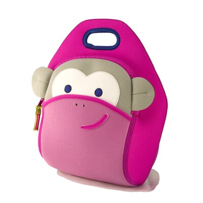 Dabbawalla Bags Blushing Pink Monkey Lunch Bag