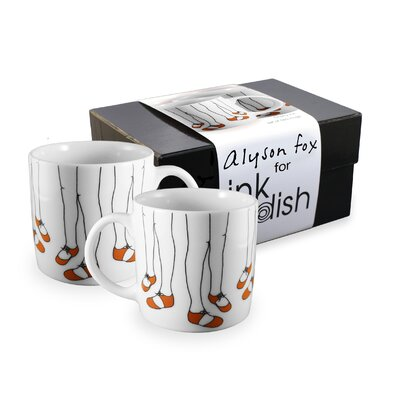 Ink Dish December 2 Mugs Gift Set