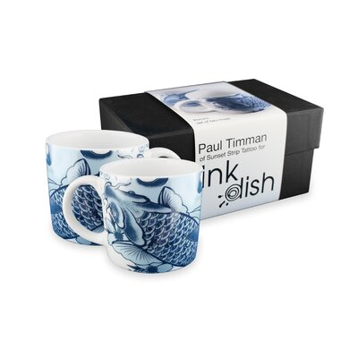 Ink Dish Irezumi 2 Mugs Gift Set