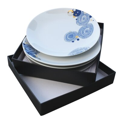 Ink Dish Basket 4 Side Plates Gift Set