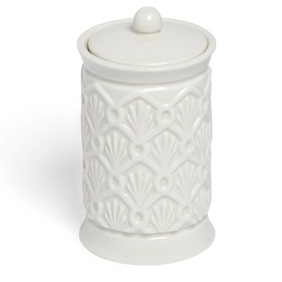 Kassatex Deco Fan Cotton Jar