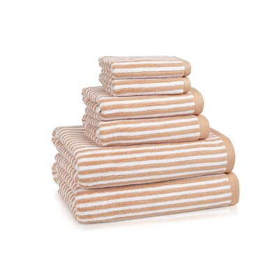 Kassatex Linea 6 Piece Towel Set