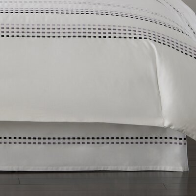 Kassatex Fine Linens Letto Studio Bedding 300 Thread Count Bed Skirt