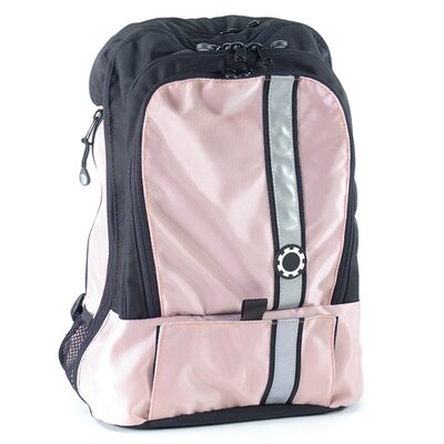 Daisy Retro Stripe Backpack Diaper Bag