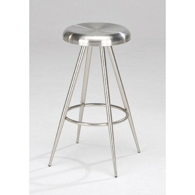 New Spec Inc Barstool 155 Swivel Barstool in Chrome