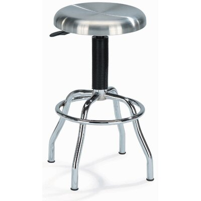 "New Spec Inc 25.5"" Adjustable Swivel Bar Stool"