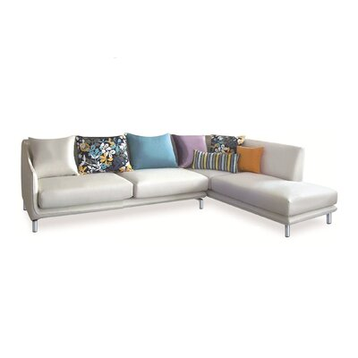 Allison Right Fabric Sectional