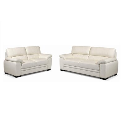 New Spec Inc Amely Sofa and Loveseat Set