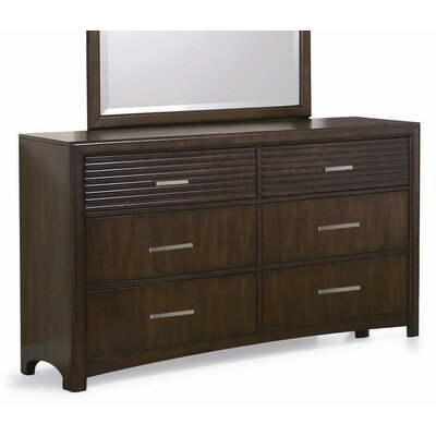 New Spec Inc Edison 6 Drawer Dresser