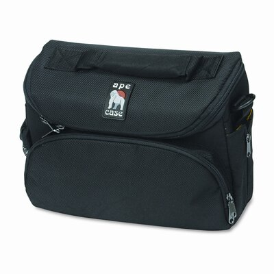 APE CASE Ape Case Digital/SLR Camera Case, Nylon, 9-1/2 x 7 x 4, Black