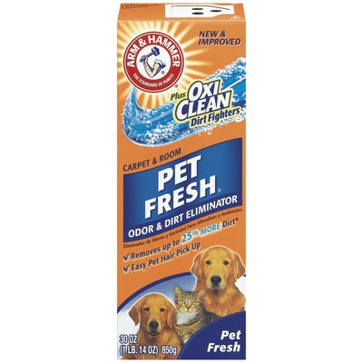 Arm & Hammer® 30 Oz Pet Fresh Carpet and Room Odor and Dirt Eliminator