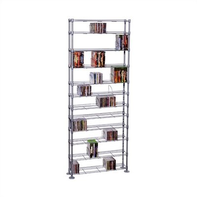Atlantic Max Steel 11 Tier Multimedia Storage Rack