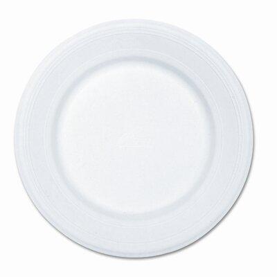 """Chinet Paper Dinnerware, Plate, 10-1/2"""" Diameter, White, 500 per Carton"""