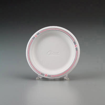 Chinet Round Classic Molded Fiber Plates in White