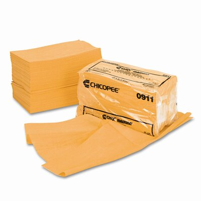 Chix Masslinn Dust Cloths, 24 x 24, Yellow, 50/Bag, 2/carton