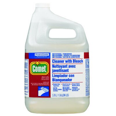 Comet RTU Cleaner with Bleach Liquid Bottle
