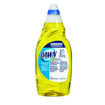 Dawn Manual Pot and Pan Dish Soap with Lemon Scent