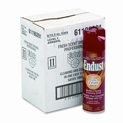 Ecolab Professional Endust, 15oz Aerosol Can, 6/carton                                                                              