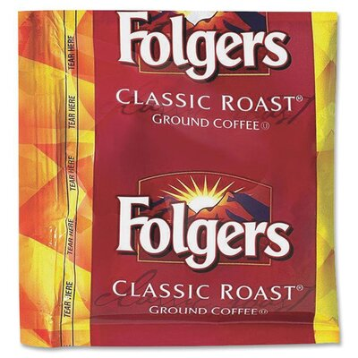 Folgers (36 per Carton) Coffee, Classic Roast, 0.9 oz Fractional Packs