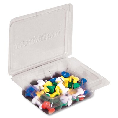 Gem Office Products, LLC. Push Pin Caddy (Pack of 40)