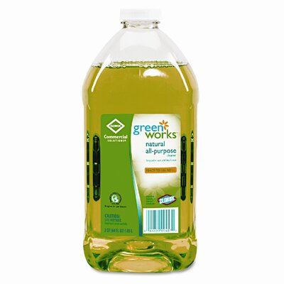 Clorox Company Green Works All-Purpose Cleaner, 64oz Refill Bottle