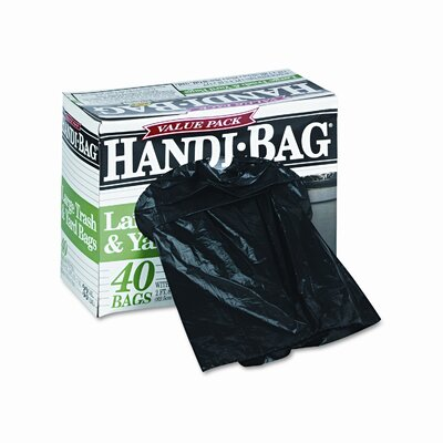 HANDI-BAG Super Value Pack Trash Bags, 40/Box