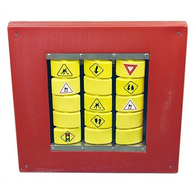 Anatex Traffic Memory Wall Panel Toy