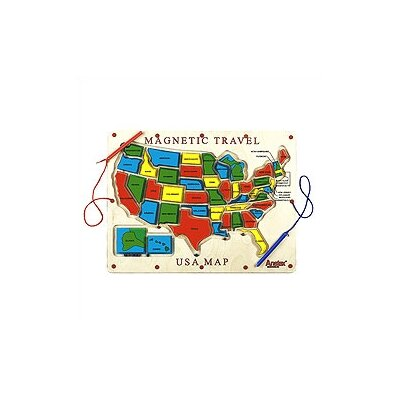 Anatex Magnetic Travel USA Map