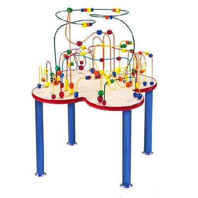 Anatex Fleur Rollercoaster Table with Metal Legs