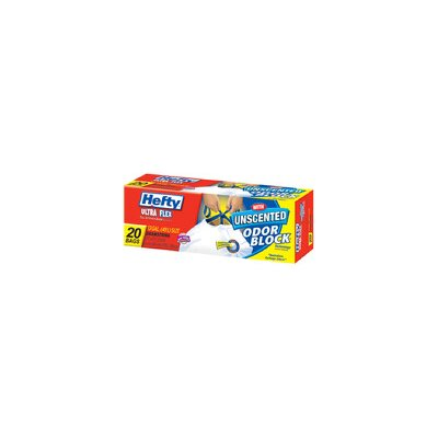 Hefty 13 Gallon Ultra Flex Trash Bag 20/box
