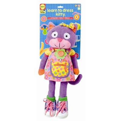 ALEX Toys Kitty Giant Learn To Dress