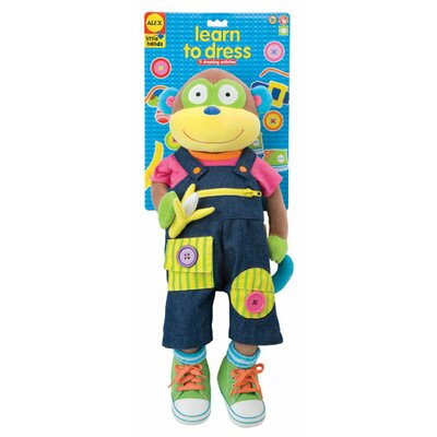 ALEX Toys Monkey Giant Learn To Dress