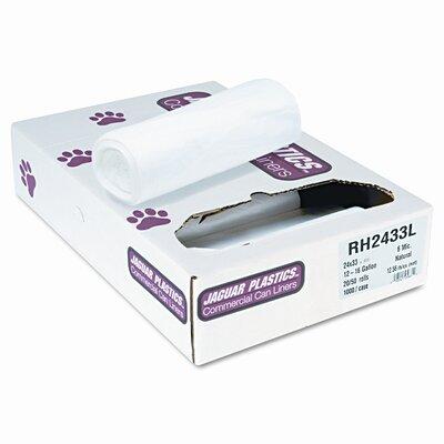 Jaguar Plastics® Liners, 1000/Carton