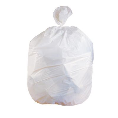 Jaguar Plastics® (100 per Carton) 45 Gallon Low-Density Can Liner in White