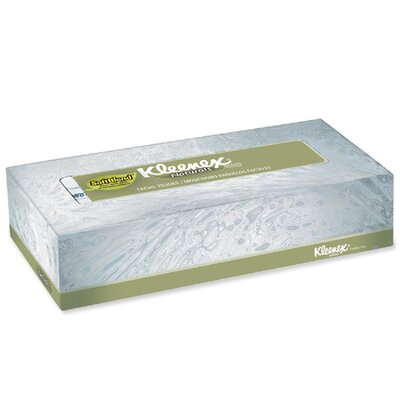 Kleenex Kimberly-Clark Professional Softblend Facial Tissue, 48 Boxes/Carton
