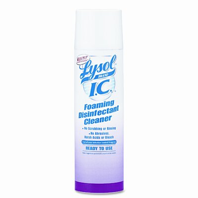 Lysol Brand I.C. Foaming Disinfectant Cleaner, 1224 Oz Cans/Carton