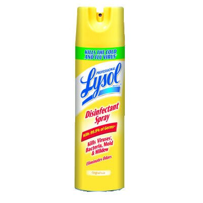 Lysol 19 oz. Aerosol Can Disinfectant Original Scent Spray (Set of 12)