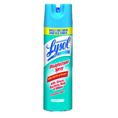 Lysol 19 oz. Aerosol Can Disinfectant Fresh Scent Spray (Set of 12)