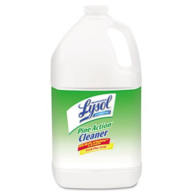 Lysol Disinfectant Pine Action Cleaner, 1gal Bottle