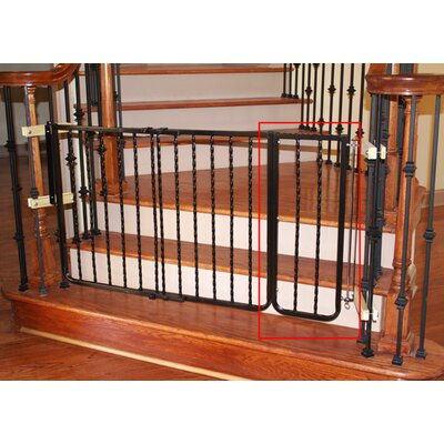 "Cardinal Gates 10.5"" Extension for Wrought Iron Décor Gate"