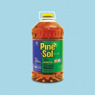 PINE-SOL 60 oz Cleaner Disinfectant Deodorizer Pine Scent Bottle
