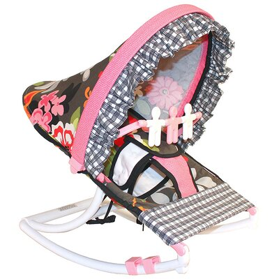Hoohobbers Sleek Slate Rocking Infant Seat